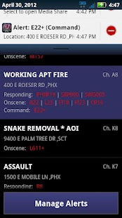 Incident Alert: PHX- screenshot thumbnail
