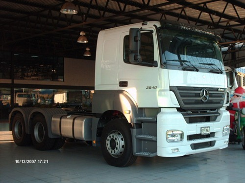 Mercedes-Benz Axor Blanco