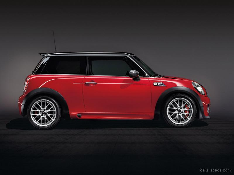 2012 mini cooper john cooper works specifications pictures prices. Black Bedroom Furniture Sets. Home Design Ideas