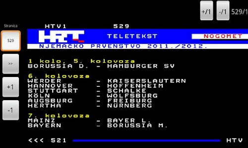 HRT Teletekst screenshot 1