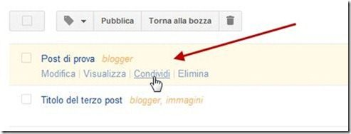 condividere post su Google Plus con Windows Live Writer