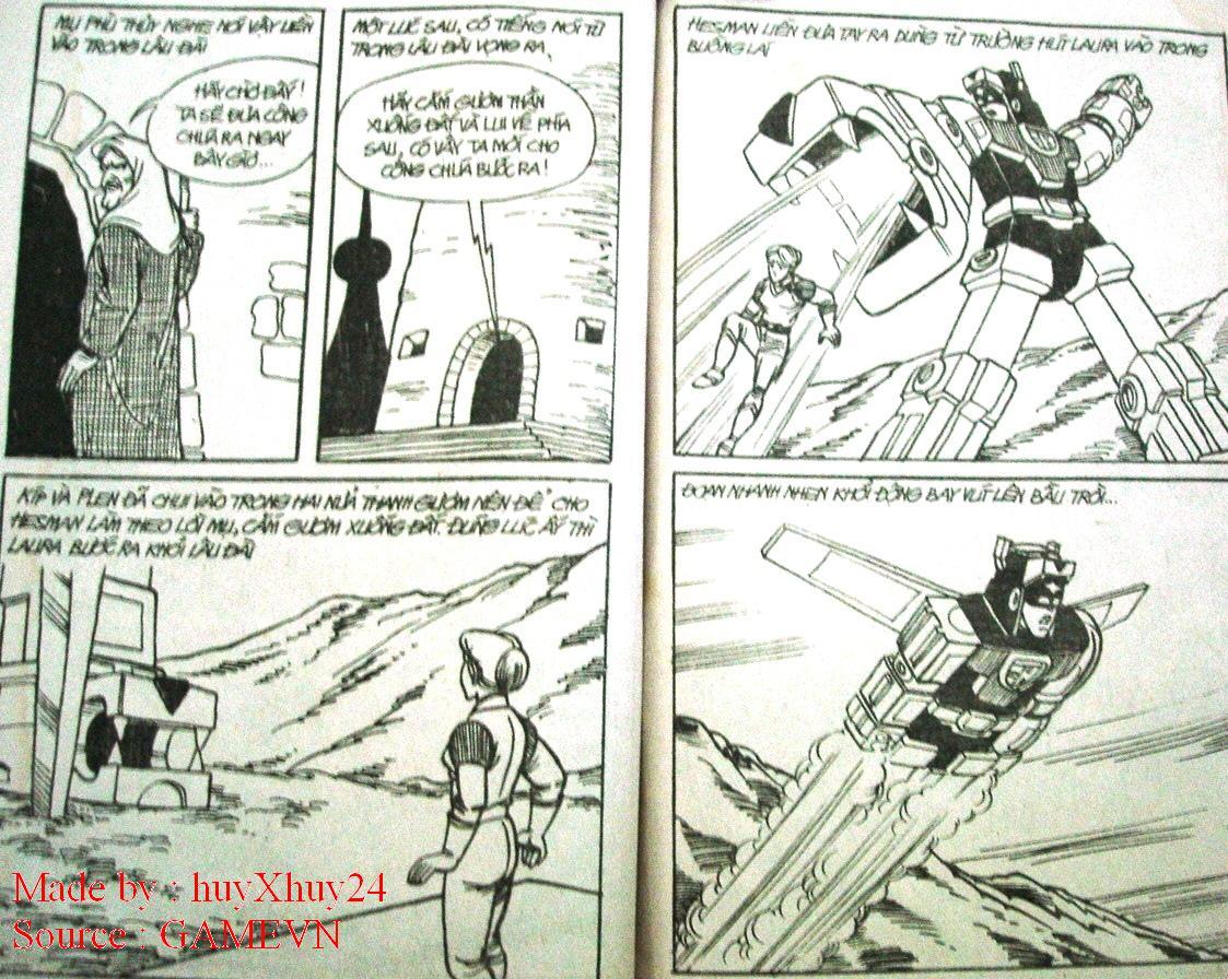 Dũng Sĩ Hesman chap 26 trang 24