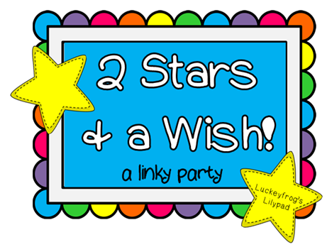 2 stars and a wish linky logo