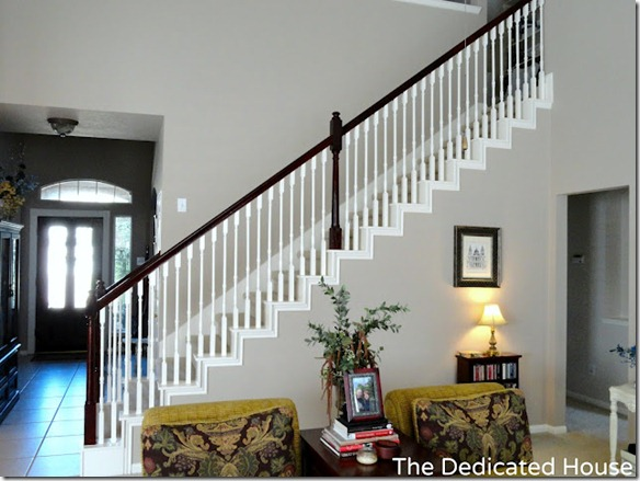 builder grade staircase updated