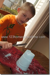 making statues from plaster of paris