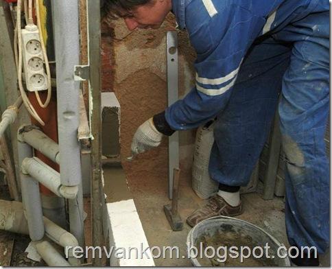 комплексной ремонт ванной комнаты 7