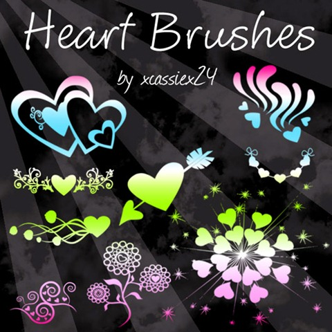 Heart-Brushes