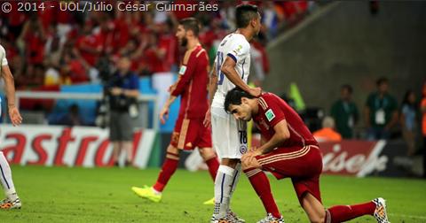 """Foi humilhante para Espanha  Não… foi uma lição de como deve se jogar  futebol. A Espanha há algum tempo adota a postura do """"já ganhou"""". E não é  bem assim. fdbb66a7ede76"""