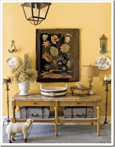 country living foyer