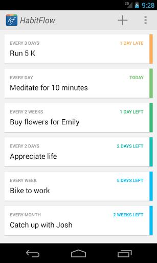 HabitFlow - Habit tracker