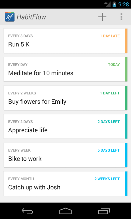 HabitFlow - Habit tracker- screenshot