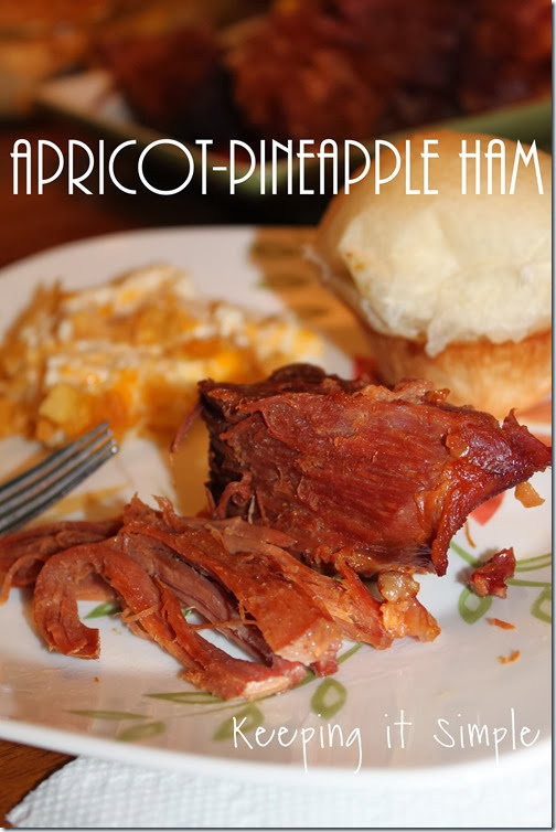 #eMealstotheresuce Apricot-Pineapple Ham