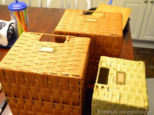 baskets with bookplates
