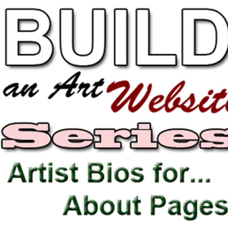 How to Create an Artist Bio Page at a Website for Art