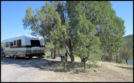 Mesa Campground Site 19