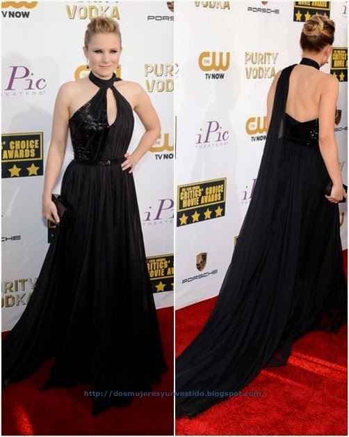 Kristen Bell attends the 19th Annual Critics' Choice Movie Awards (3)