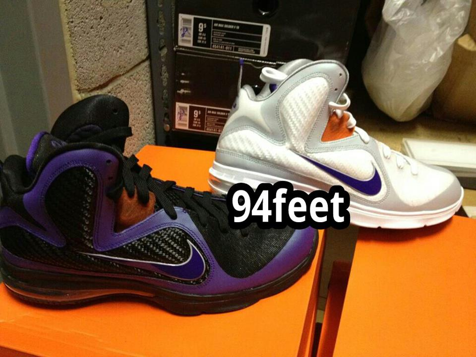 1fdcd5c1f75 Diana Taurasi8217s Nike LeBron 9 8220Mercury8221 Home amp Away PEs ...