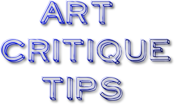 art critique tips