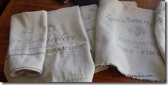 Rustic Kitchen Linens