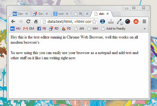 browser-text-editor