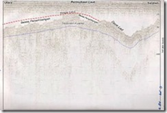 rekaman seismik di perairan P. Batam