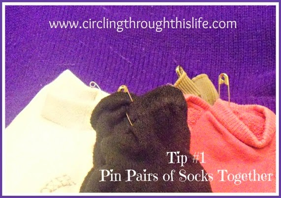 Organizing Tips from Tess Pin Socks
