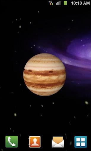 3D Jupiter Live Wallpaper