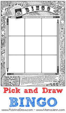 Pick and Draw BINGO
