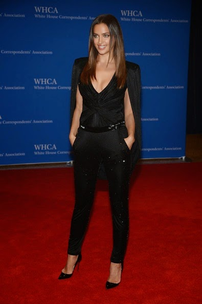 Irina Shayk attends the 100th Annual White House Correspondents