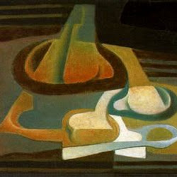 Juan Gris (1922): La Cuillère. Fondation Hermann et Magrit Rupf. Kunstmuseum. Berne.
