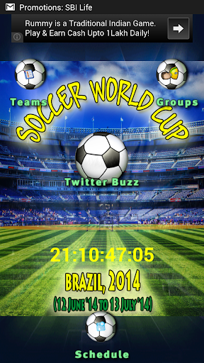 【免費運動App】World Cup '14 - Curtain Raiser-APP點子