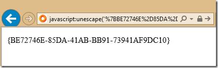 Tech and me: Offline URL Decoder - or GUID Decoder :)