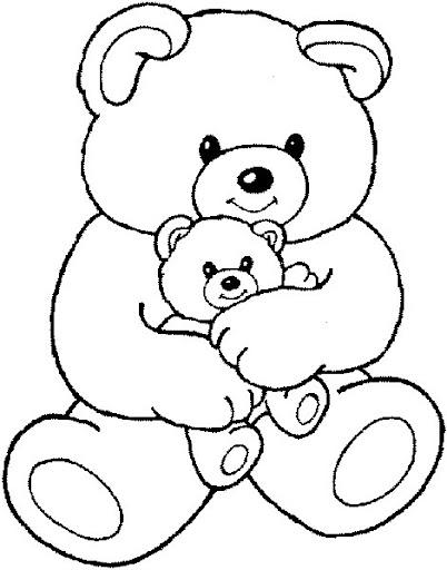 Teddy Bear Para Pintar Imagui
