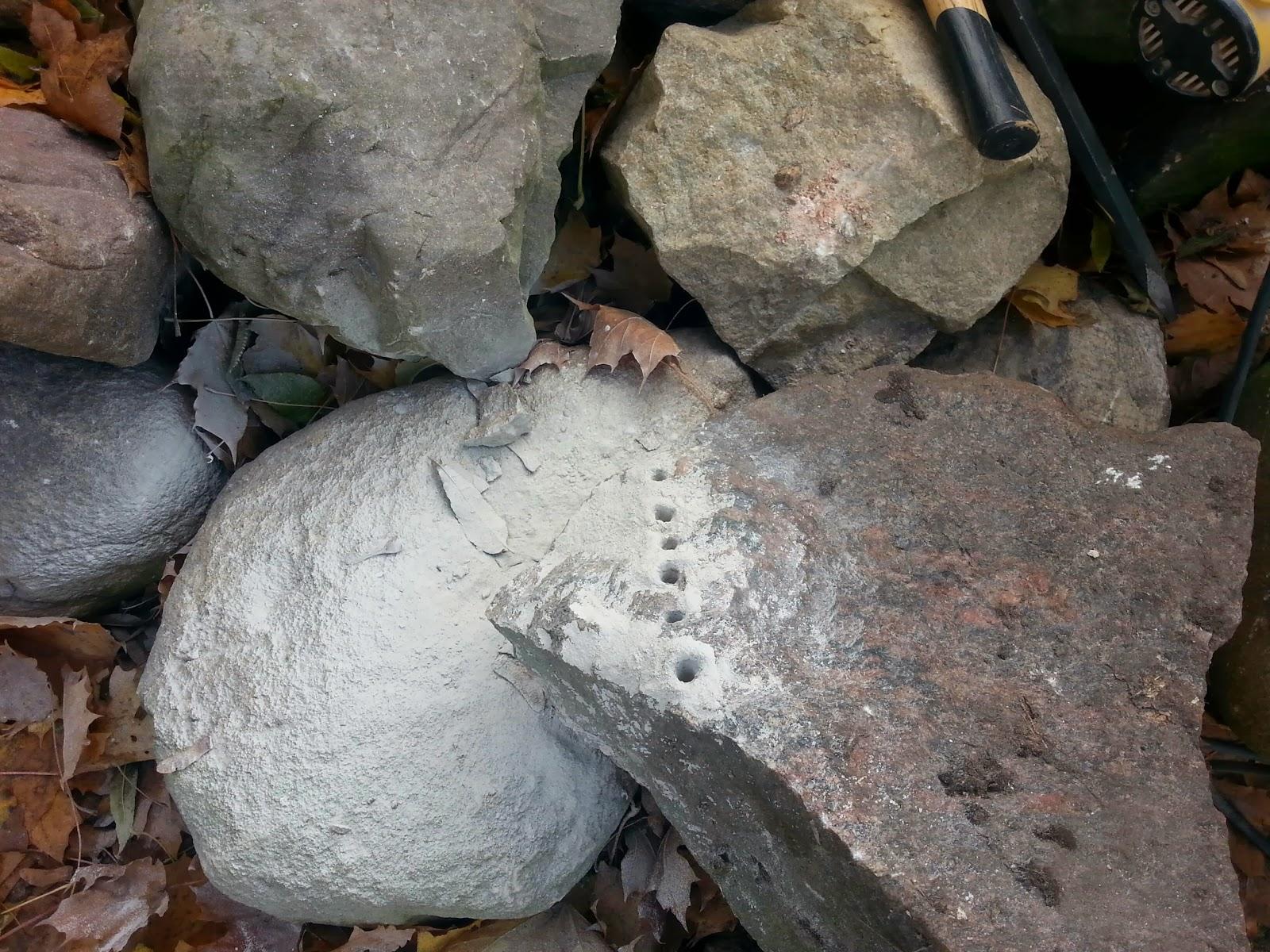 Steine Spalten