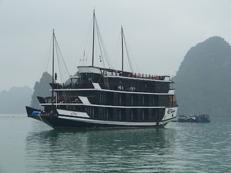 Vase in Halong Bay