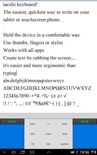 tactile keyboard - free