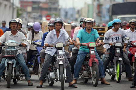 Motociclete in Ho Chi Minh