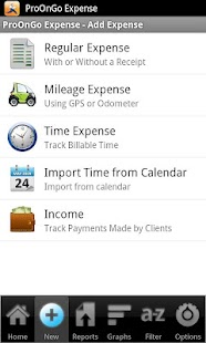 ProOnGo - Expense Tracker- screenshot thumbnail