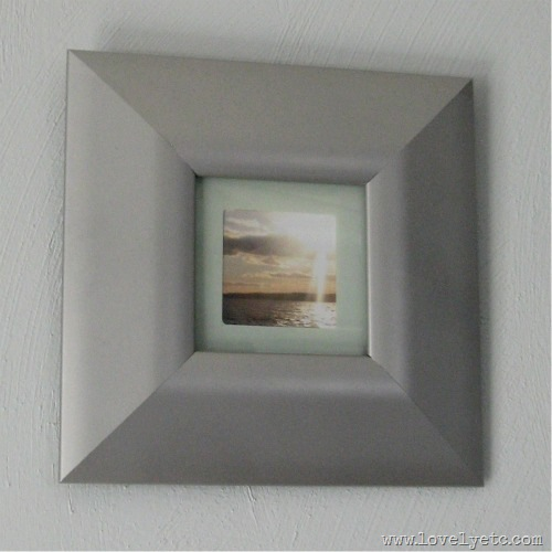frame with coaster