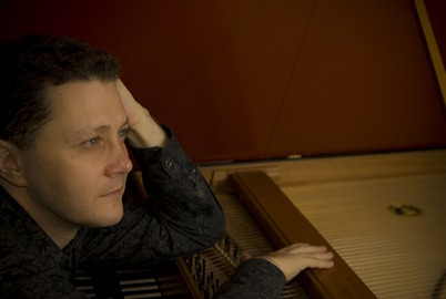 GRAMMY® nominated harpsichordist Jory Vinikour [Photo by Kobie van Rensburg]