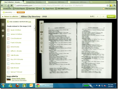 Ancestry.com.... is making city directories searchable