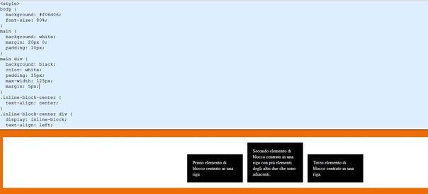 Come centrare orizzontalmente o verticalmente testo immagini o altri oggetti html ipcei - Centrare div css ...