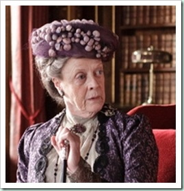 maggie smith downton