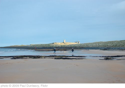 'Dunstanburgh castle from Embleton bay' photo (c) 2009, Paul Dunleavy - license: http://creativecommons.org/licenses/by/2.0/