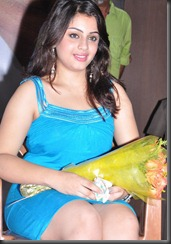 actress_suhani_hot_in_blue_dress_still