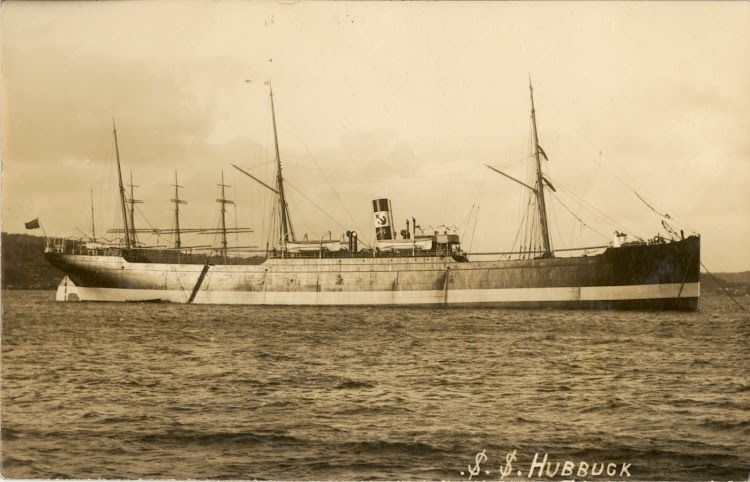 Steamer HUBBUCK. Foto State Library of New South Wales. From the webpage TROVE.jpg