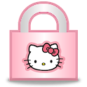 Hello Kitty Animated Lock icon