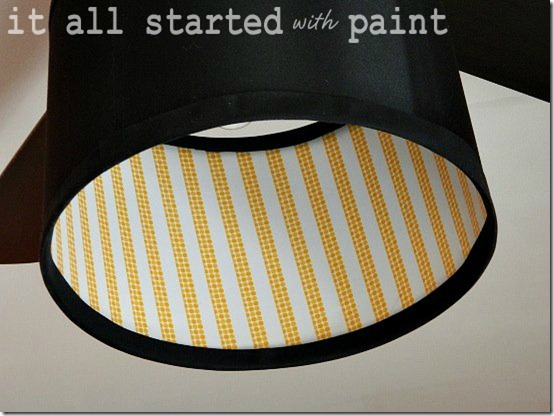 washi tape on drum shade final final