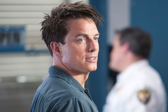 Captain Jack Harkness  in Torchwood Miracle Day Escape to LA