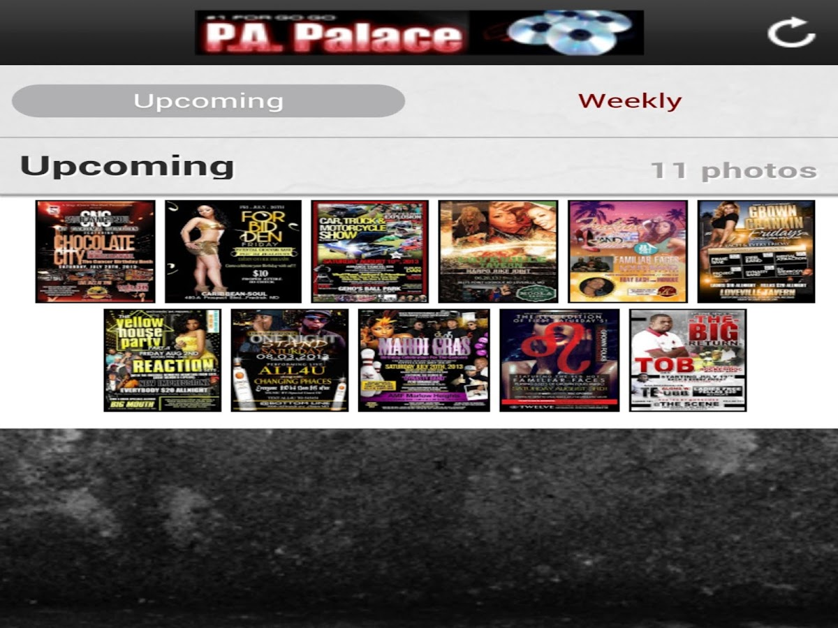 P.A. Palace - screenshot